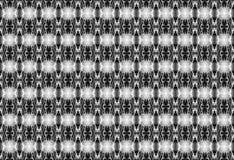 Teste padrão sem emenda geométrico em preto e no white_ fotos de stock royalty free