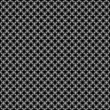 Teste padrão sem emenda GEOMÉTRICO preto no fundo branco Fotos de Stock Royalty Free
