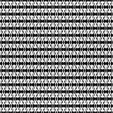 Teste padrão sem emenda GEOMÉTRICO preto no fundo branco Fotografia de Stock