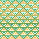 Teste padrão sem emenda geométrico tropical Imagens de Stock