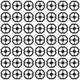 teste padrão sem emenda geométrico Vetor Imagens de Stock