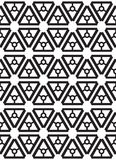 teste padrão sem emenda geométrico Vetor ilustração royalty free