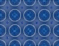 Teste padrão sem emenda halftoned sumário Imagens de Stock Royalty Free