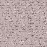 Teste padrão sem emenda handwritted sumário da estenografia Fotos de Stock