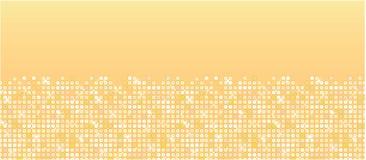 Teste padrão sem emenda horizontal dos sparkles dourados Imagem de Stock