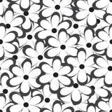 Teste padrão sem emenda Ilustração do vetor com flores Cópia floral do vintage Imagem de Stock