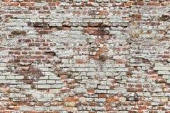 Teste padrão sem emenda infinito da parede de tijolo velha imagem de stock