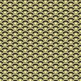 Teste padrão sem emenda japonês Luz do vetor art Fotografia de Stock