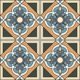 Teste padrão sem emenda lindo dos retalhos Imagem de Stock Royalty Free