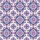 Teste padrão sem emenda lindo dos retalhos das telhas marroquinas coloridas, ornamento Imagem de Stock Royalty Free