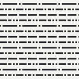 Teste padrão sem emenda liso do vetor da forma abstrata com ponto e linhas da repetição Papel de envolvimento Estilo retro mínimo Fotografia de Stock Royalty Free