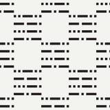 Teste padrão sem emenda liso do vetor da forma abstrata com ponto e linhas da repetição Papel de envolvimento Estilo retro mínimo Foto de Stock Royalty Free