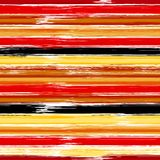 Teste padrão sem emenda listrado colorido com cursos tirados mão da escova Ilustração do vetor para a cópia de matéria têxtil ou  ilustração do vetor