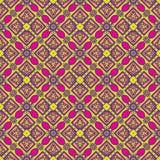 Teste padrão sem emenda mexicano do oblana de Talavera Imagens de Stock Royalty Free