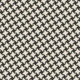 Teste padrão sem emenda monocromático geométrico Foto de Stock Royalty Free