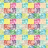 Teste padrão sem emenda multicolorido abstrato Imagem de Stock Royalty Free