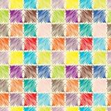 Teste padrão sem emenda multicolorido abstrato Fotos de Stock Royalty Free