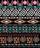 Teste padrão sem emenda no estilo asteca Foto de Stock Royalty Free
