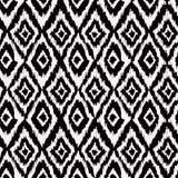 Teste padrão sem emenda no estilo asteca Fotografia de Stock