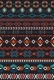 Teste padrão sem emenda no estilo asteca Foto de Stock