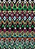 Teste padrão sem emenda no estilo asteca Imagens de Stock