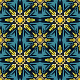 Teste padrão sem emenda no fundo decorativo colorido do estilo oriental com motivos asiáticos árabes do Islã dos elementos da man Foto de Stock Royalty Free