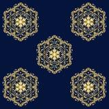 Teste padrão sem emenda oriental ilustração royalty free