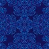 Teste padrão sem emenda ornamentado indiano floral de paisley Imagens de Stock