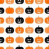 Teste padrão sem emenda para Halloween Fotografia de Stock
