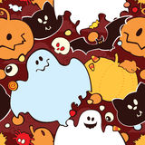 Teste padrão sem emenda para Halloween Fotografia de Stock Royalty Free
