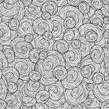 Teste padrão sem emenda para o livro para colorir Imagens de Stock