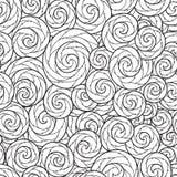 Teste padrão sem emenda para o livro para colorir Imagem de Stock Royalty Free