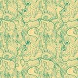 Teste padrão sem emenda para o projeto de matéria têxtil da cópia ou o envolvimento de papel Foto de Stock Royalty Free
