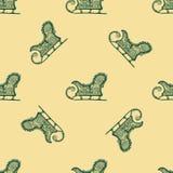 Teste padrão sem emenda para o projeto de matéria têxtil da cópia ou o envolvimento de papel Imagens de Stock Royalty Free