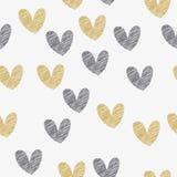 Teste padrão sem emenda para Valentine Day feliz, vetor ilustração do vetor