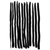 Teste padrão sem emenda pintado à mão do vetor com cursos da escova da tinta ilustração royalty free