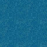 Teste padrão sem emenda Placa de circuito do computador Fotografia de Stock Royalty Free