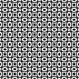 Teste padrão sem emenda preto e branco fotografia de stock