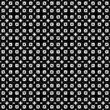 Teste padrão sem emenda preto e branco fotos de stock