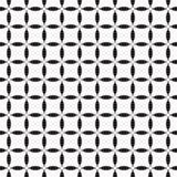 Teste padrão sem emenda preto e branco Foto de Stock