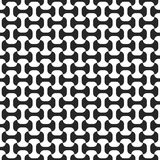 Teste padrão sem emenda preto e branco Imagens de Stock