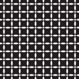 Teste padrão sem emenda preto e branco Foto de Stock Royalty Free