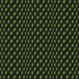 Teste padrão sem emenda preto verde abstrato Criando a ilusão Verde em um fundo preto Imagem de Stock Royalty Free