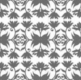 Teste padrão sem emenda real com o ornamento floral para seu de criativo Foto de Stock Royalty Free