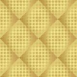 Teste padrão sem emenda regular metálico do ouro Imagem de Stock