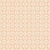 Teste padrão sem emenda repetível do redemoinho alaranjado Fotografia de Stock