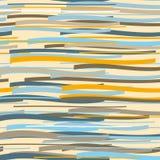 Teste padrão sem emenda Repetindo a textura em cores do nuance Fundo azul, alaranjado, marrom Imagem de Stock