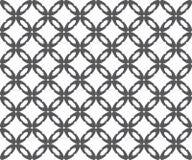 Teste padrão sem emenda, repetindo a textura geométrica ilustração royalty free