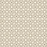 Teste padrão sem emenda retro abstrato Imagens de Stock