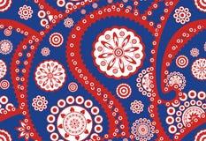 Teste padrão sem emenda retro de paisley (pepino turco) ilustração do vetor